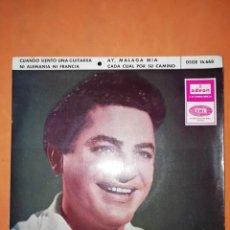 Discos de vinilo: ANTONIO MOLINA. CUANDO SIENTO UNA GUITARRA. ODEON EMI 1965. Lote 245624525