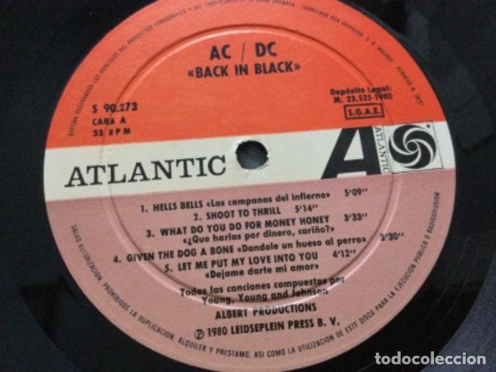 Discos de vinilo: AC/DC Black in Black - Foto 4 - 245628885