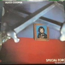 Discos de vinilo: ALICE COOPER - SPECIAL FORCES. Lote 245629605