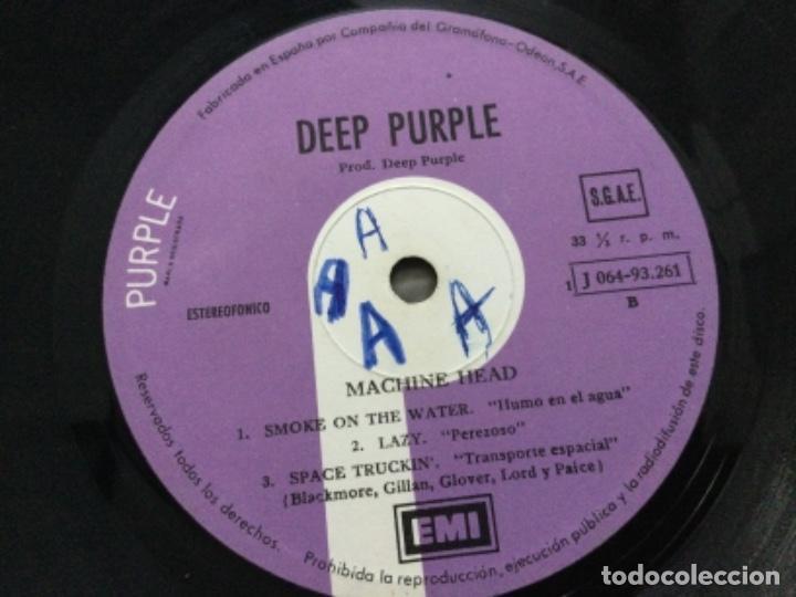 Discos de vinilo: Deep Purple - machine head - Foto 5 - 245631940