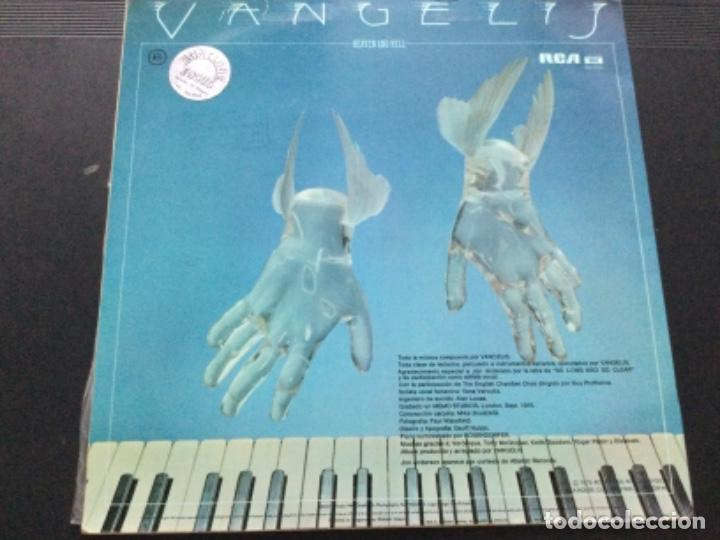 Discos de vinilo: Vangelis - heaven and hell - Foto 2 - 245632495
