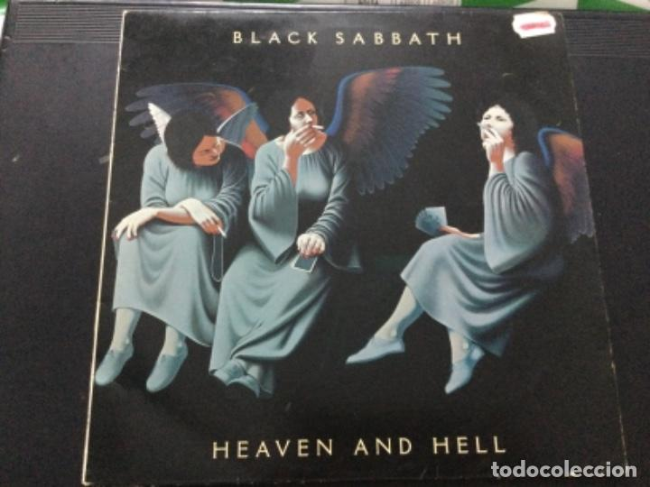 BLACK SABBATH - HEAVEN AND HELL . U.K. (Música - Discos - LP Vinilo - Heavy - Metal)