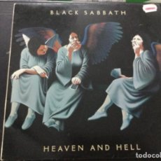 Discos de vinilo: BLACK SABBATH - HEAVEN AND HELL . U.K.. Lote 245633085