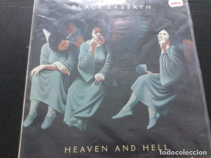 Discos de vinilo: Black Sabbath - heaven and hell . U.K. - Foto 5 - 245633085