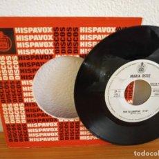 Discos de vinilo: MARIA OSTIZ - POR TU LIBERTAD + PRONTO VOLVERÉ - HISPAVOX (1968) - PROMOCIONAL. Lote 245634325