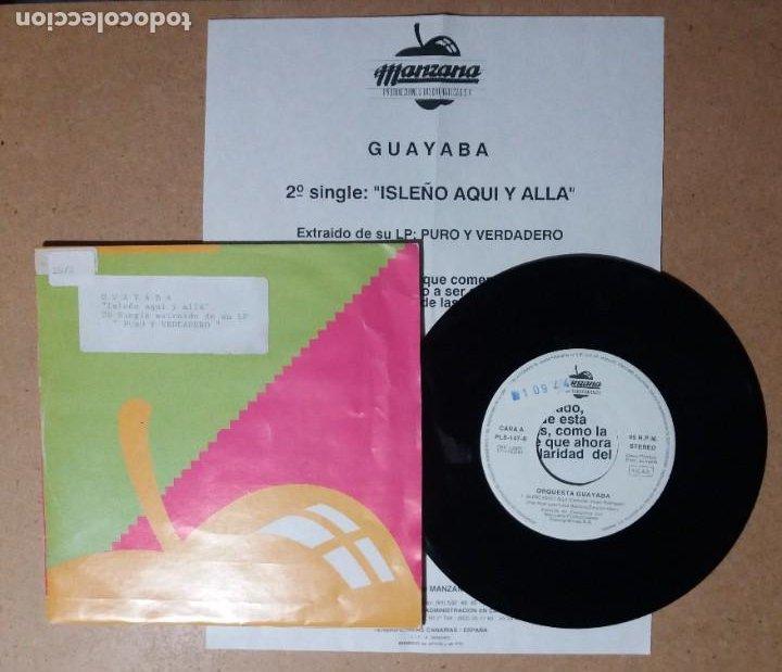 ORQUESTA GUAYABA / ISLEÑO AQUI Y ALLA / SINGLE 7 PULGADAS (Música - Discos - Singles Vinilo - Orquestas)