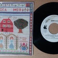 Discos de vinilo: VAINICA MIX / HABANERA DEL PRIMER AMOR / SINGLE 7 PULGADAS. Lote 245635360