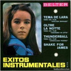 Discos de vinilo: GLAUCO MASETTI, BOB MITCHEL - EXITOS INSTRUMENTALES - EP SPAIN 1966 - BELTER - GERALDINE CHAPLIN. Lote 245637655