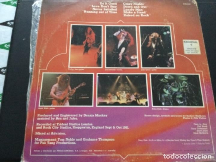 Discos de vinilo: Tygers of Pan Tang - crazy nights - Foto 2 - 245640200