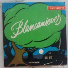 Discos de vinilo: BLANCANIEVES.MARTA MARTORELL.CARMEN CONTRERAS.MARIA CAMP.ARTURO MAS. ANGELICUM. EP ESPAÑA. Lote 245640225