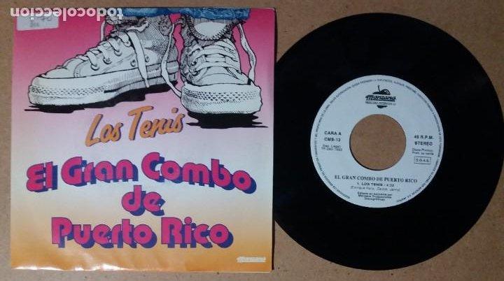 EL GRAN COMBO DE PUERTO RICO / LOS TENIS / SINGLE 7 PULGADAS (Música - Discos - Singles Vinilo - Orquestas)