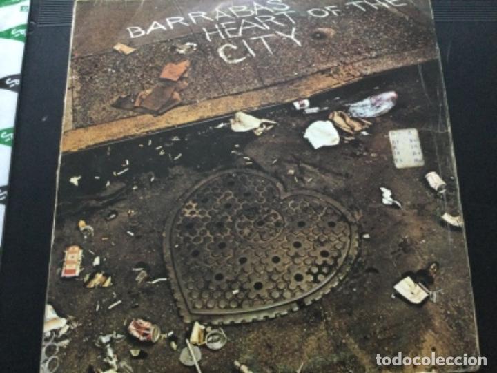 BARRABAS - HEART OF THE CITY (Música - Discos - LP Vinilo - Heavy - Metal)