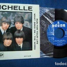 Discos de vinilo: BEATLES SINGLE EP EDITADO POR EMI ODEON ESPAÑA ORIGINAL EPOCA CONJUNTO BEAT AÑOS 60. Lote 245646930