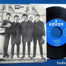 Discos de vinilo: BEATLES SINGLE EP EDITADO POR EMI ODEON ESPAÑA ORIGINAL EPOCA CONJUNTO BEAT AÑOS 60. Lote 245647540