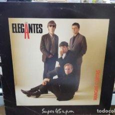 Discos de vinilo: LOS ELEGANTES - MANGAS CORTAS - MAXI SINGLE DEL SELLO 1984. Lote 245648725