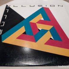 Discos de vinilo: ILLUSION -ILLUSION- (1985) LP DISCO VINILO. Lote 245649995