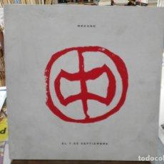 Discos de vinilo: MECANO - EL 7 DE SEPTIEMBRE - MAXI SINGLE DEL SELLO ARIOLA 1991. Lote 245652280
