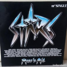Discos de vinilo: HEAR N AID - STARS MAXI MERCURY - 1986. Lote 245654075
