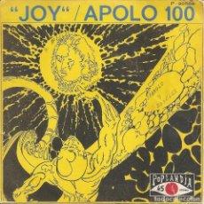 Discos de vinilo: APOLO 100 - JOY / EXERCISE IN A MINOR (SINGLE ESPAÑOL, POPLANDIA 1972). Lote 245654180