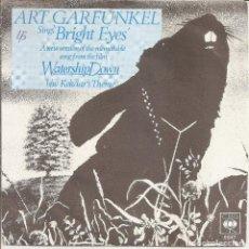 Discos de vinilo: ART GARFUNKEL - BRIGHT EYES / KEHAAR'S THEME (SINGLE HOLANDES, CBS 1979). Lote 245654670