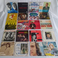 Discos de vinilo: LOTE DE 20 DISCOS 45 RPM.. Lote 245654800