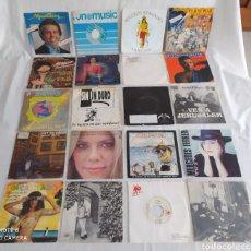 Discos de vinilo: LOTE DE 20 DISCOS 45 RPM.. Lote 245657025