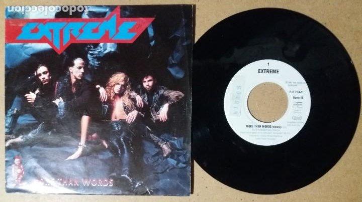 EXTREME / MORE THAN WORDS / SINGLE 7 PULGADAS (Música - Discos - Singles Vinilo - Pop - Rock Internacional de los 90 a la actualidad)