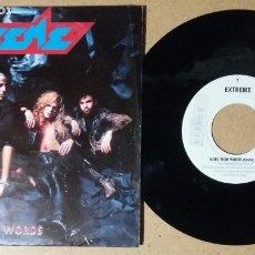 Discos de vinilo: EXTREME / MORE THAN WORDS / SINGLE 7 PULGADAS. Lote 245710540
