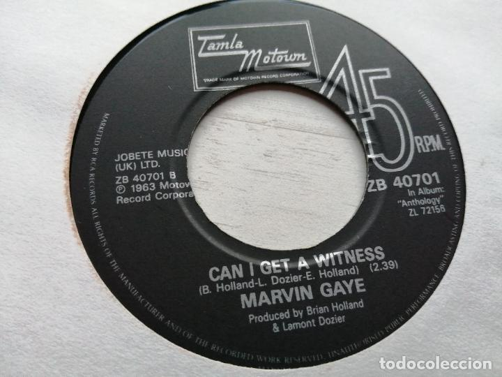 Discos de vinilo: Marvin Gaye – I Heard It Through The Grapevine Single TAMLA 1986 VG++ Reed. 1986 - Foto 2 - 245712830