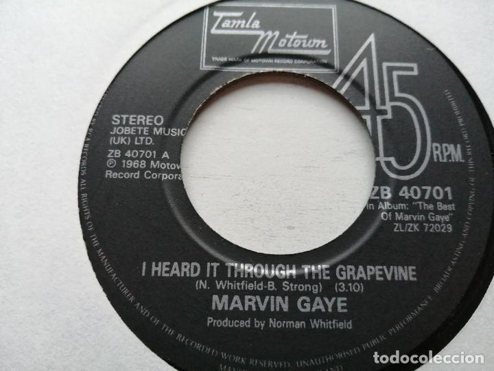MARVIN GAYE – I HEARD IT THROUGH THE GRAPEVINE SINGLE TAMLA 1986 VG++ REED. 1986 (Música - Discos - Singles Vinilo - Funk, Soul y Black Music)