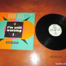 Discos de vinilo: DIANA ROSS - I´M STILL WAITING - MAXI - UK - MOTOWN - PLS 163 - L -. Lote 245718800