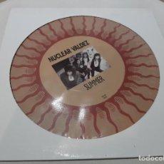 Discos de vinilo: NUCLEAR VALDEZ -SUMMER- (1990) PICTURE DISC. Lote 245724085