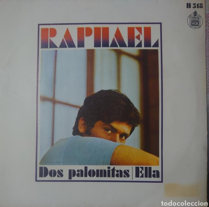 RAPHAEL SINGLE SELLO HISPAVOX EDITADO EN ESPAÑA AÑO 1969... (Música - Discos - Singles Vinilo - Solistas Españoles de los 70 a la actualidad)