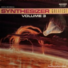 Discos de vinilo: VVAA – SYNTHESIZER GREATEST VOLUME 3 (GERMANY 1990). Lote 245732435