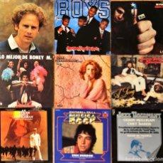 Discos de vinilo: LOTE 9 LP'S VARIADOS. Lote 245742085