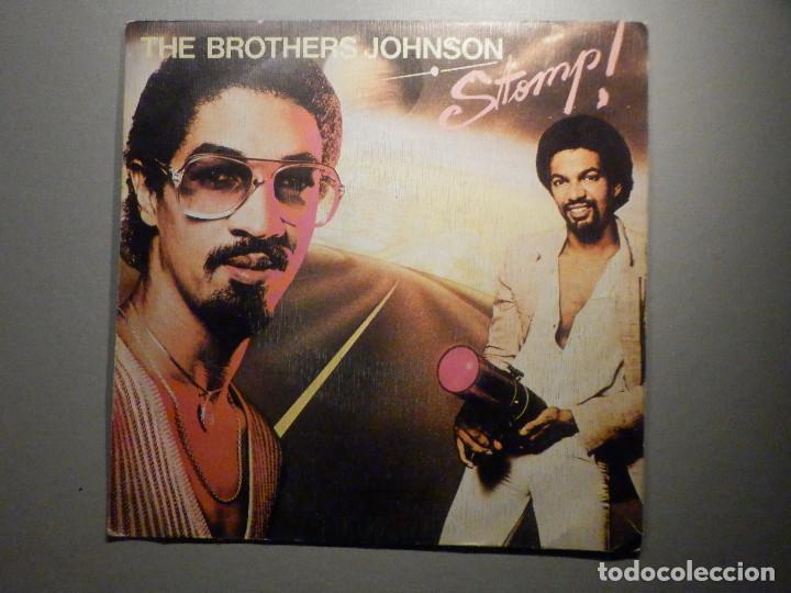 THE BROTHERS JOHNSON - STOMP! - LET´S SWING - AM RECORDS 1980 (Música - Discos - Singles Vinilo - Pop - Rock - Internacional de los 70)