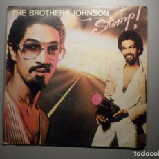 Discos de vinilo: THE BROTHERS JOHNSON - STOMP! - LET´S SWING - AM RECORDS 1980. Lote 245745870
