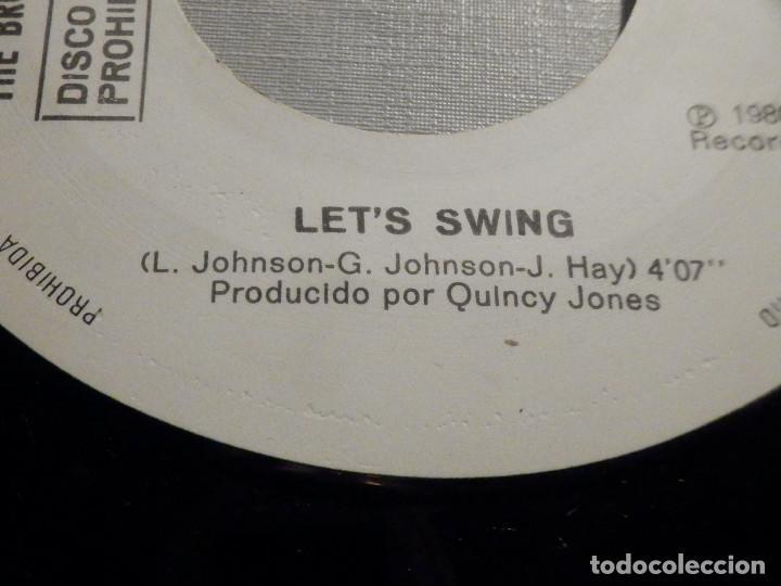 Discos de vinilo: The Brothers Johnson - Stomp! - Let´s Swing - AM Records 1980 - Foto 3 - 245745870