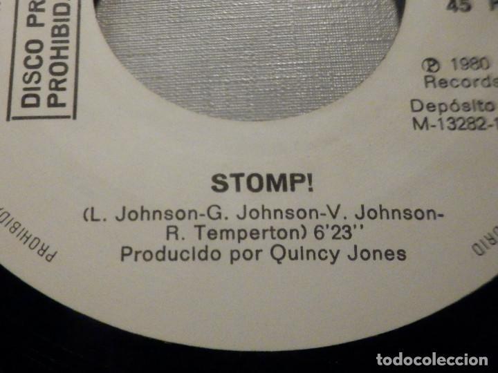 Discos de vinilo: The Brothers Johnson - Stomp! - Let´s Swing - AM Records 1980 - Foto 4 - 245745870