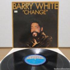 Discos de vinilo: BARRY WHITE - CHANGE 1982 ED HOLANDESA CON ENCARTE. Lote 245746450