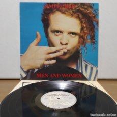 Discos de vinilo: SIMPLY RED - MEN AND WOMEN 1987 ED ESPAÑOLA GATEFOLD. Lote 245746675