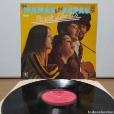 Discos de vinilo: THE MAMAS & THE PAPAS - PEOPLE LIKE US 197X ( 1971 ) ED UK. Lote 245747190