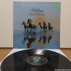 Discos de vinilo: BOB SEGER - AGAINST THE WIND 1980 ED HOLANDESA CON ENCARTE. Lote 245747280