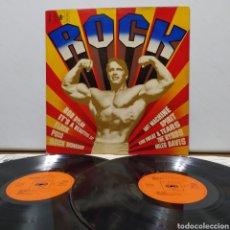 Discos de vinilo: ROCK BUSTER 1970 ED HOLANDESA GATEFOLD / BLACK WIDOW , SPIRIT , SKIN ALLEY , THE FLOCK , ARGENT. Lote 245747490