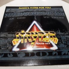 """Discos de vinilo: STRYPER -ALWAYS THERE FOR YOU- (1988) MAXI-SINGLE 12"""". Lote 245752305"""