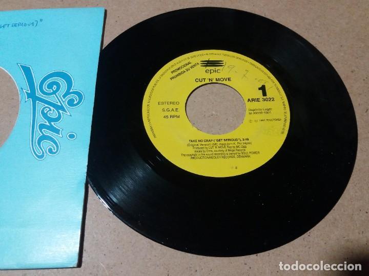 CUT N MOVE / TAKE NO CRAP / SINGLE 7 PULGADAS (Música - Discos - Singles Vinilo - Pop - Rock Internacional de los 90 a la actualidad)