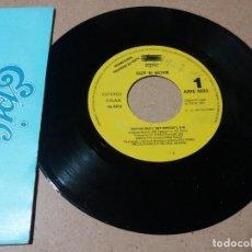 Discos de vinilo: CUT N MOVE / TAKE NO CRAP / SINGLE 7 PULGADAS. Lote 245755135