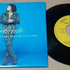 Discos de vinilo: TERENCE TRENT D'ARBY / DELICATE / SINGLE 7 PULGADAS. Lote 245755255