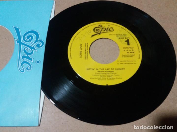 LOUIE LOUIE / SITTIN IN THE LAP OF LUXURY / SINGLE 7 PULGADAS (Música - Discos - Singles Vinilo - Pop - Rock Internacional de los 90 a la actualidad)
