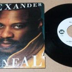 Discos de vinilo: ALEXANDER O'NEAL / LOVE MAKES NO SENSE / SINGLE 7 PULGADAS. Lote 245756880